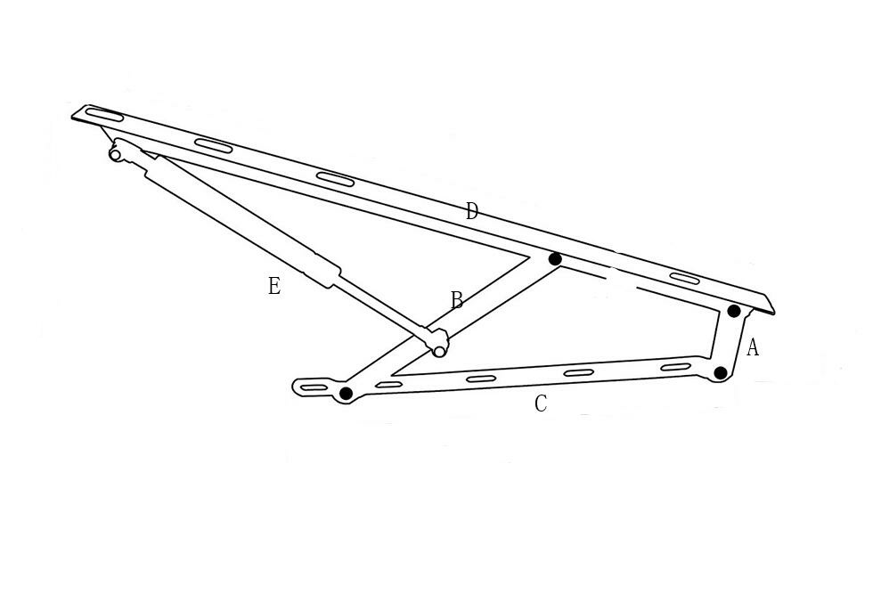 bed lift mechanism drawings